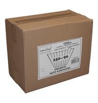 CaterChef Korffilters (gebleekt) | 250/90 - 4x250 stuks