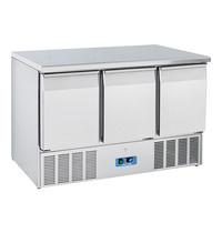COOL HEAD Koelwerkbank RVS geventileerd  | 1/1 GN | 230W | thermostatisch regelbaar | 700x1365x850(h)mm