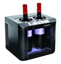 CAVANOVA Flessenkoeler (cap.2st.) elektro thermisch   131W   2 flessen   260x290x260(h)mm