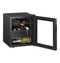 EMGA Wijnklimaatkast zwart  (cap.015st.) | met glas deur | 430x480x515(h)mm