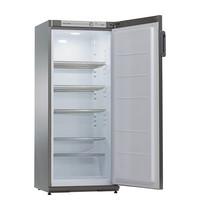 EXQUISIT Koelkast  RVS | 267 liter | met thermostaat | 600x620x1450(h)mm