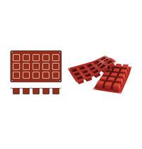 SILICONFLEX bakmat Cubes-Mini (cap.15st.)