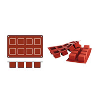 SILICONFLEX bakmat Cubes (cap.08st.)