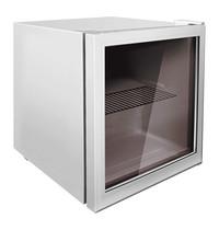 Husky Minibar | 46L | Grijs | +2°C/+10°C | Statisch | 2 Schappen | 430x460x510(h)mm