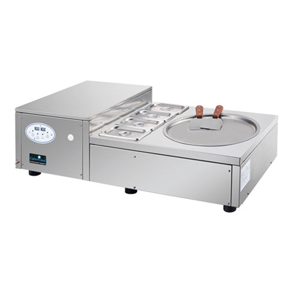 Ice Teppanyaki | 740W | met garneer unit | 1020x480x320(h)mm