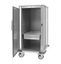 CaterChef warmhoudwagen (cap.16xGN2/1) | 2kW | spiraalsnoer en regelbare digitale thermostaat | 880x780x1650(h)mm