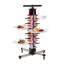 Plate Mate Bordenrek tafelmodel 24 borden | 360x360x660(h)mm