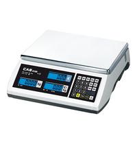 CAS Weegschaal elektronisch RVS plateau 30x22cm 006kg/2gr | 350x330x110(h)mm