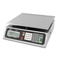 SAMMIC Weegschaal 020kg/2gr   230V   Met tarra toetsen   350x350x140(h)mm