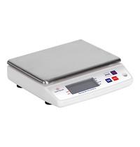 Louis Tellier Weegschaal elektronisch RVS plateau 10kg/1gr | 240x240x75(h)mm