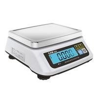 CAS weegschaal 015kg/5gr of 030kg/10gr   230V   260x290x140(h)mm