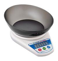 EMGA Weegschaal 002kg/1gr   op batterijen   220x150x40(h)mm