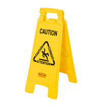 RUBBERMAID Waarschuwingsbord '' Caution'' | 280x40x680(h)mm