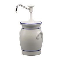 EMGA Sauzen dispenser keramische pot 30ml/02L | Ø15x33(h)cm