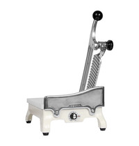 EMGA Kaashakker/Snijder | Met elektrisch verwarmd mes en werkplateau RVS | Snijdikte 0-6mm | 230V