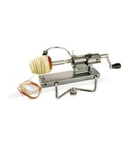 EMGA aardappelschil/snijder Twist | verwijdert klokhuis en snijdt plakjes | 315x125x210(h)mm