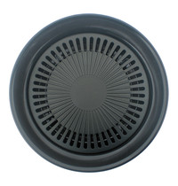 EMGA Bak/grillplaat met anti aanbaklaag Ø32x5(h)cm