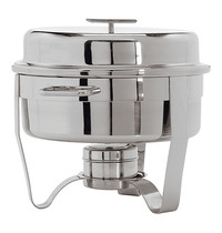 MAXPRO Chafing dish hoog gepolijst Classic One met 'T' greep | Ø41x40(h)cm