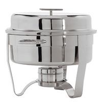MAXPRO Chafing dish RVS hoog gepolijst Classic One met 'T'greep 5L   Ø34x31(h)cm