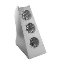 EMGA Bestekuitgifte unit RVS incl. RVS bekers cap.3 | 200x340x430(h)mm