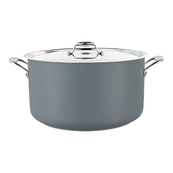 Kookpan grijs middel 14 liter Ø32x19(h)cm