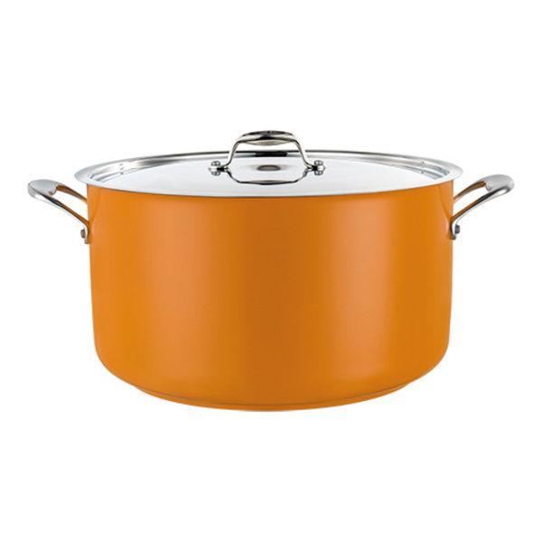 Kookpan geel middel 14 liter Ø32x19(h)cm