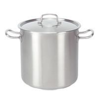 PUJADAS Kookpan RVS | 4,5 liter | Met deksel | Ø18x18(h)cm