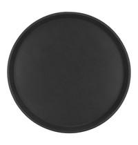 EMGA Bierdienblad zwart glasfiber, antislip ook wanneer het blad nat is - Ø 28cm