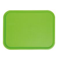 EMGA Dienblad groen polypropyleen 45,5x35,5cm