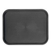EMGA Dienblad zwart polypropyleen  35,0x27,0cm