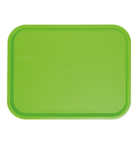 EMGA Dienblad groen polypropyleen  35,0x27,0cm