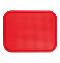 EMGA Dienblad rood polypropyleen 35,0x27,0cm