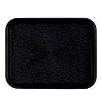 ROLTEX Dienblad polypropyleen zwart | 345x265x19(h)mm