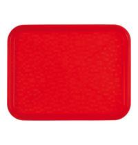 ROLTEX Dienblad polypropyleen rood | 345x265x19(h)mm