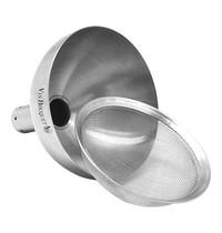 EMGA Decanteer trechter RVS incl. filter Ø9x9(h)cm