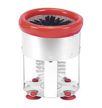 EMGA Glazen-spoelborstel nylon/aluminium Ø 15x19(h)cm