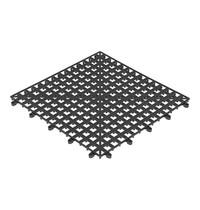 EMGA Glasafdruipmat kunststof koppelbaar via klikverbinding 33x33cm
