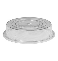 EMGA Bordendeksel polycarbonaat met vinger opening & magnetron bestendig voor borden mm 265/280 | Ø 28cm