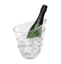 EMGA Wijnkoeler transparant ovaal Ø12x24(h)cm