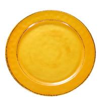 EMGA Bord geel melamine Ø 22cm