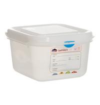 DENOX Voedseldoos 1,7 liter | 1/6GN | 176x162x100(h)mm