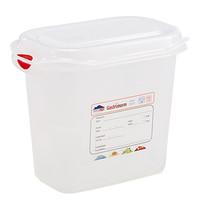 DENOX Voedseldoos 1,5 liter | 1/9GN | 176x108x150(h)mm