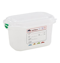 DENOX Voedseldoos 1,0 liter | 1/9GN | 176x108x100(h)mm