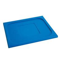 CaterChef Deksel blauw | 1/2 GN | 325x265mm