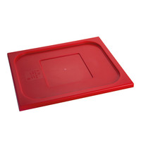 CaterChef Deksel rood | 1/2 GN | 325x265mm