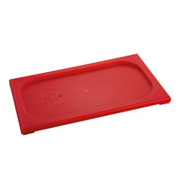 CaterChef Deksel rood | 1/3 GN | 325x176mm
