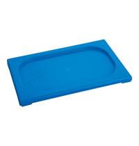 CaterChef Deksel blauw | 1/4 GN | 265x162mm