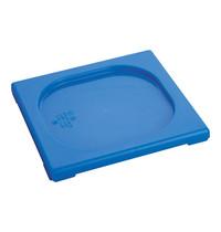 CaterChef Deksel blauw | 1/6 GN | 176x162mm