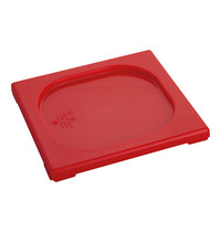 CaterChef Deksel rood | 1/6 GN | 176x162mm