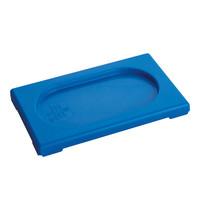 CaterChef Deksel blauw | 1/9 GN | 176x108mm